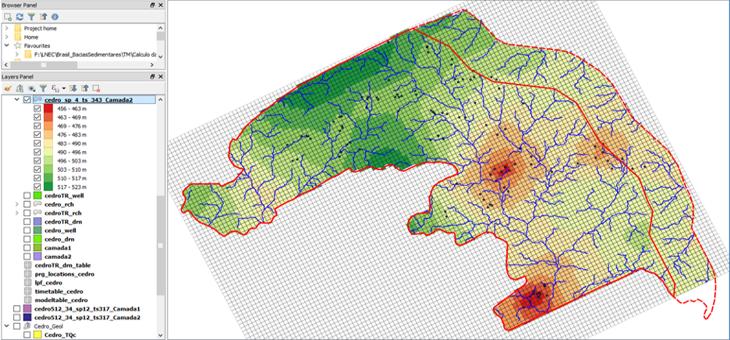 Estudos Hidrogeológicos e de Modelação Numérica dos Aquíferos de Quatro Bacias Sedimentares do Estado de Pernambuco (Brasil)